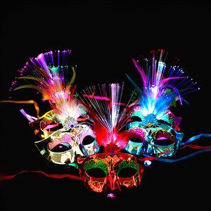 Máscaras de plástico Homem Mulher Halloween Masquerade Rosto Capa de Festa Festival de Natal Multi Cores Faces Capa de Venda Quente 3 29by L1