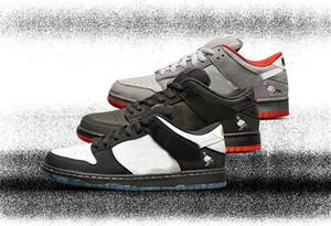 Zımba SB Dunk Düşük Pro OG QS Kaykay Ayakkabı Panda Pigeon Barış Tasarımcı Spor Sneakers Casual Ayakkabı Of 3.0 Siyah Güvercin The Dove x