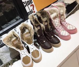 Martin Bottes chaussures Desert cow-boy designero26 Plate-forme des femmes de véritable talons hauts en cuir Bottines New Auw Automne Hiver bottes de neige longues