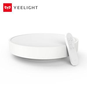 원래 Xiaomiyoupin Yeelight 스마트 천장 조명 램프 원격 미 APP WIFI 블루투스 제어 스마트 LED 색상 IP60 방진 홈 3000033-B1