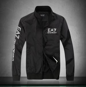 Chaqueta 2019 la venta caliente de la manera italiana de calidad superior de los hombres de Nueva delgado masculino chaquetas color sólido Otoño Invierno Moda Casual Jóvenes hombres ropa de abrigo
