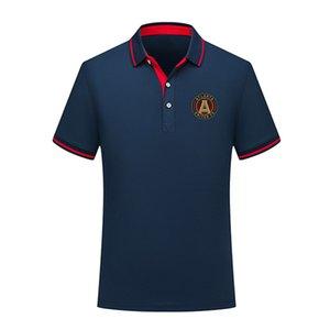 Polos 2020 MLS Atlanta United FC Polo de treinamento de futebol de manga curta polo Moda Sports Polos do futebol do futebol T-shirt dos homens Jersey