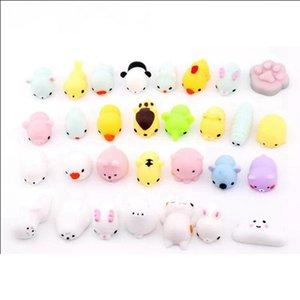 Bonito Mochi Cat mole lenta Nascente Squeeze crianças Cura Fun Crianças Kawaii Adulto Toy Estresse Presentes Apaziguador Decor mole Brinquedos RRA1561