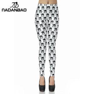 NADANBAO US $ 4,99 para 1 Pcs /$7.99 Para 2 Pcs / $ 9.99 3 PCS / $ 10.99 4 Pcs Mulheres Slim Pants aptidão Leggin Moda Workout Legin