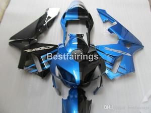 Injection mold top selling fairing kit for Honda CBR600RR 03 04 blue black bodywork fairings set CBR600RR 2003 2004 JK43