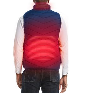 CYSINCOS 2020 New Heating Vest Washable Usb Charging Heating Warm Vest Control Temperature Outdoor Camping Hiking Golf