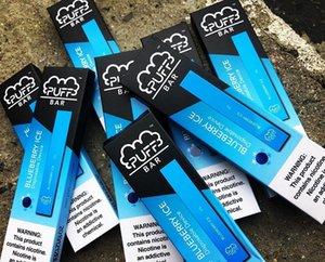 Puff Bar Disposable Device Starter Kit 280mAh Battery 1.3ml Cartridge Vape With Security Code vs MR Fog disposable