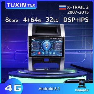 "TUXIN TX8 10"" Para X-Trail X Trail 2 T31 Radio 2007-2015 Car Navigation Multimedia Video Player GPS Android 8.1 No 2 1 din carro dvd"