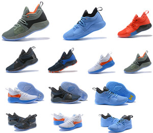 pg 2 II enfants chaussures de basket-ball top pas cher Qaulitys PG2 coloré Oreo Accueil Playstation paul chaussures george Mens formation Sneakers