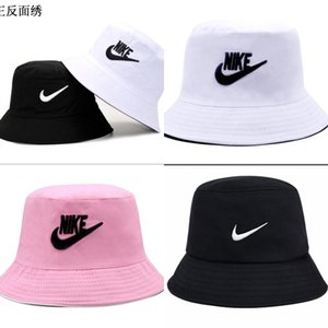 Горячая нового дизайн моды кожа Bucket Hat Для женщин людей Складной Рыбалки Колпачки Черного Fisherman Бич ВС Visor Продажа Складной Man Bowler Cap