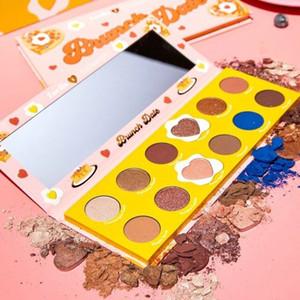 2019 Più nuovo Colourpop x Zoella Cooperation Makeup Eyeshadow BRUNCH DATE 12 colori Palette in polvere pressata Ombretto