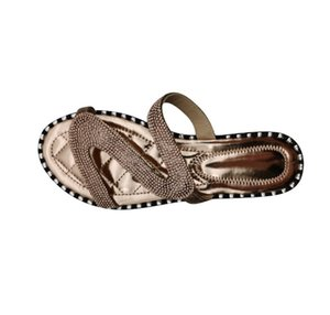 Women's Sandals Shoes Casual Outside Slippers Stick The Rhinestone Flat Buckle Slippers PH-CFY20050914