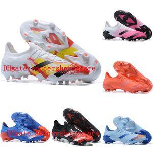 2020 top quality mens soccer shoes outdoor soccer cleats Predator Mutator 20.1 FG football boots scarpe da calcio hot Tacos de futbol