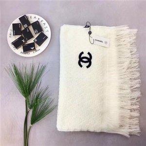 Marca caliente bufanda de seda mujeres 2019 nuevo diseñador rizado bufanda larga chal bolsa etiqueta 180x90 cm chal collar oral regalo azul