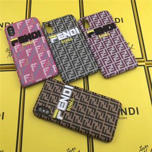 FF Fashion Brand Funda de teléfono de lujo para IphoneX Iphone7 8 Plus Iphone7 8 Iphone6 6sP 6 Funda de teléfono de diseño para nuevo Iphone