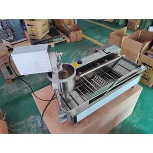 تجاري كبير الكهربائية صف مزدوج صنع دونات التلقائي آلة الصانع دونات دونات المقلاة