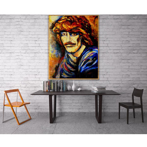 """Full Square Round Drill 5D DIY Diamond Painting """" rock singer George Harrison"""" Embroidery Cross Stitch 5D Home Decor Gift"""