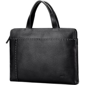 Williampolo Herrenhandtasche Querschnitt Business Casual Aktentasche erste Schicht Rindsleder Tasche