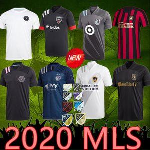 2020 2021 MLS جيرسي اتلانتا INTER ميامي بيكهام الأسود socer بالقميص LA لوس انجليس GALAXY FC LAFC VELA تشيتشاريتو MLS مايوه دي القدم