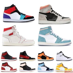 Cheap Sale 1 High Obsidian OG Travis Basketball shoes Spiderman UNC 1s top 3 Mens COUTURE Men Sport Designer Sneakers Trainers
