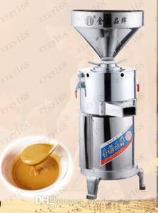 Hot Commerciale 15kg / h Tahini fa macchina Peanut Butter Effettuare il trasporto del burro di arachidi macchina in acciaio inossidabile Mill Grinder libero