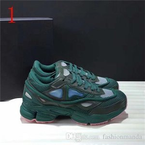 Com Original Box Top Quality 2020 Unisex Raf Simons X Consortium Ozweego 2 Ii Running Shoes Homens Mulheres Sneakers Tamanho Us5 0,5 -Us10