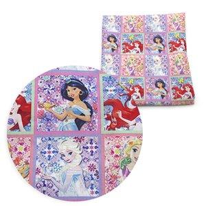 50*140cm Cartoon Patchwork Printed Polyester Cotton Fabric for Tissue Kids Home Textile DIY Garment Dress Children Cloth ,c9188
