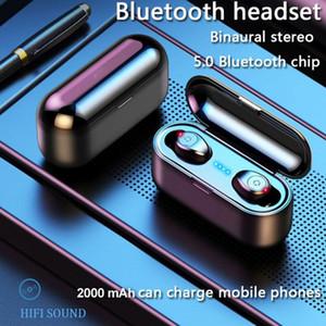 F9 tws Sports Headphones Wireless Earphones Bluetooth 5.0 Mini Earbuds For Mobile phones pk i7s i9s i11 i12 i30 i60