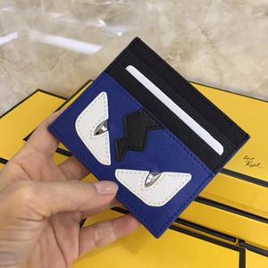 Sac de punk monstre carte de crédit porte-monnaie à double magie oeil mode ID sacs à main carddesigner porte-cartes porte-monnaie porte-cartes de visite