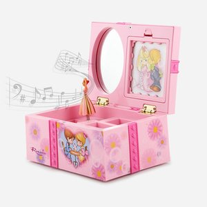 Carillon rotante dance music box Princess serie girl play house toy Regalo di Natale nuovo giocattolo interattivo esotico