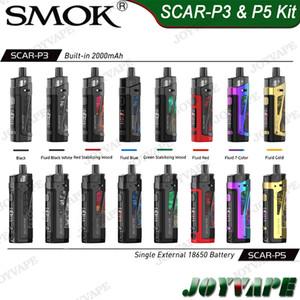 SMOK SCAR P3 Built-in 2000mAh 5,5 ml SCAR-P5 Einzel 18650 5ml Pod Mod Kit 80W IP67 wasserdichte Device Support DTL MTL Vaping