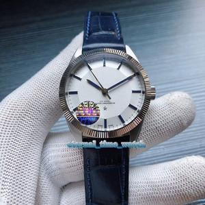 TW High version CONSTELLATION 130.93.39.21.99.001 белый циферблат Серебряный стальной корпус 8913 автоматические механические мужские часы Кожаный ремешок часы
