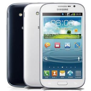 Восстановленный оригинальный Samsung Galaxy Grand Duos i9082 5.0 inch Dual Core 1GB RAM 8GB ROM 8.0 MP Dual SIM Unlocked 3G Android телефон DHL 30шт