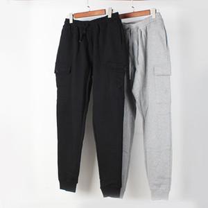 Les nouveaux pantalons pour hommes multi-poches outillage européens et américains tissés pantalon en pierre de faisceau de sport pantalons sport est la terre