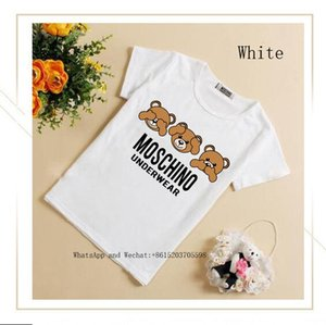 Short Sleeve T cute T-shirt Pure Cotton Summer Wear Baby Children Half Children's Clothes 113006