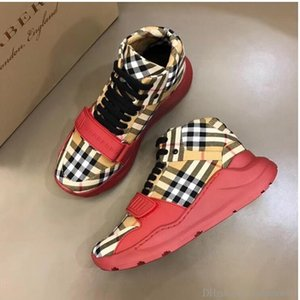 2019H new brand high to help men s casual shoes fashion wild sports shoes outdoor men s sports boots original box invoice packaging