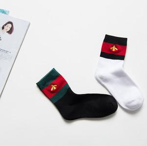 [with box] Unisex Mens Women Socks Men Long Letter Sock Cotton chaussettes Elite Elastic Sports Sock Ankle Socks Stockings SCC06-2