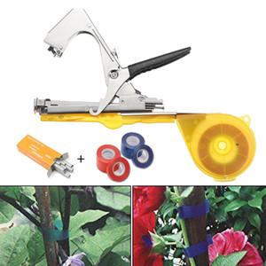 Bahçe Tesisi Şubesi Tapetool Bitki Bağlama Teyp Aracı Tapener Şube Bağlama Makinesi Tapetool Çemberleme Bind Makinası Çiçek Kreş Erik Araçları