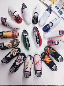 К 2020 году новые дизайн роскошь платформе свободного покроя обувь мужчины женщины скейтбординг обувь кроссовки блеск Шинни Heelback теннис классический удобную М51