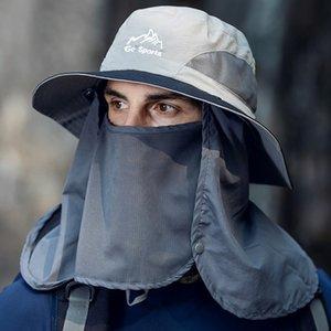 Summer Anti-ultraviolet Face Shield Visors Hat Adjustable Sun Hat Face-shielding Sun-proof Outdoor Sun Hat Electric Car Empty Top Hats