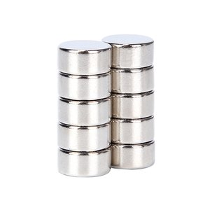 10 Stücke 10 * 5mm Super Starke Neodym-magnet N52 Runde Disc Dauermagnete Rare Earth für Kunsthandwerk Hobbies 10 * 5mm