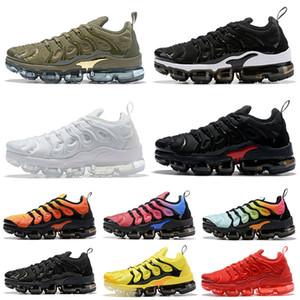 nike air vapormax tn plus off white 36-47 2020 yeni gelenler vm Yastıkları Erkekler Koşu Ayakkabıları Üçlü siyah Beyaz Gerçek Olmak Kırmızı Köpekbalığı Bayan Sneakers BOYUT ABD 13