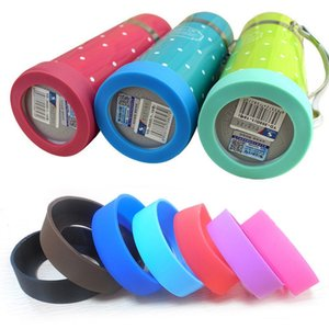 New Bottom Protective Cover Rubber Cup Sleeve Silicone Coasters for Vacuum Insulated Stainless Steel Travel Mug WB2203