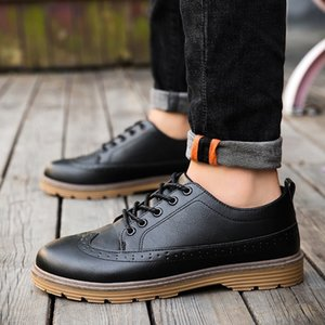 Men genuine Leather Shoes Handmade sewing Comfortable Formal Dress Men Oxfords Elegant Gentle business wedding shoes 3