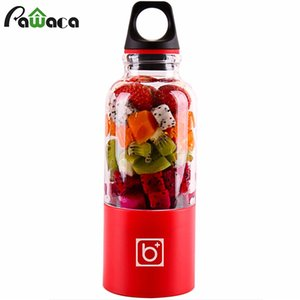 500 ml tasse électrique Mini Portable USB rechargeable Juicer Blender Maker Shaker Squeezers Fruits Orange Jus Extracteur Q190524