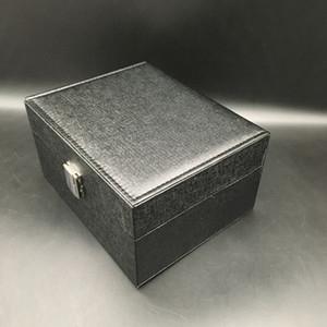 Di alta qualità Light Light Black Watch Watch STORAGO Box PU orologi in pelle PU