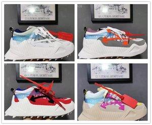 Erkekler Gerçek Deri ODSY-1000 Offs Spor Marka yürüyüş ayakkabıları için toptan ucuz ayakkabı tasarımcısı beyaz offwhites sneaker ow