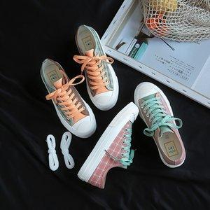 versione coreana studenti 2020 scarpe di tela nuova estate femminili Joker ulzzang Harajuku ins scarpe di nicchia Super Fuoco ooerg femminile