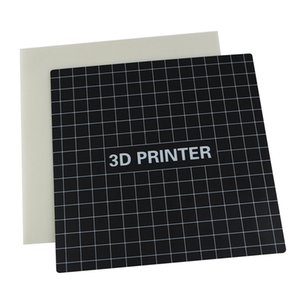 3D Printers Desenvolver Placa Tape Praça Heatbed 235x235mm para Creality CR-20 Ender 3 Black