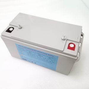 RV / Güneş Sistemi / Yat / Golf Arabaları Derin Döngüsü lifepo4 pil 12v 120ah LiFePO4 12V 100Ah 12v 120ah lityum iyon pil paketleri